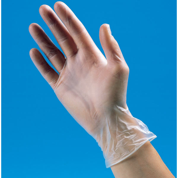 Powder-Free Disposable Vinyl Gloves 100pk