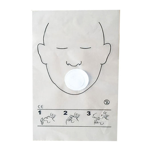 Resuscitation Face Shields Pack of 5 - image 1