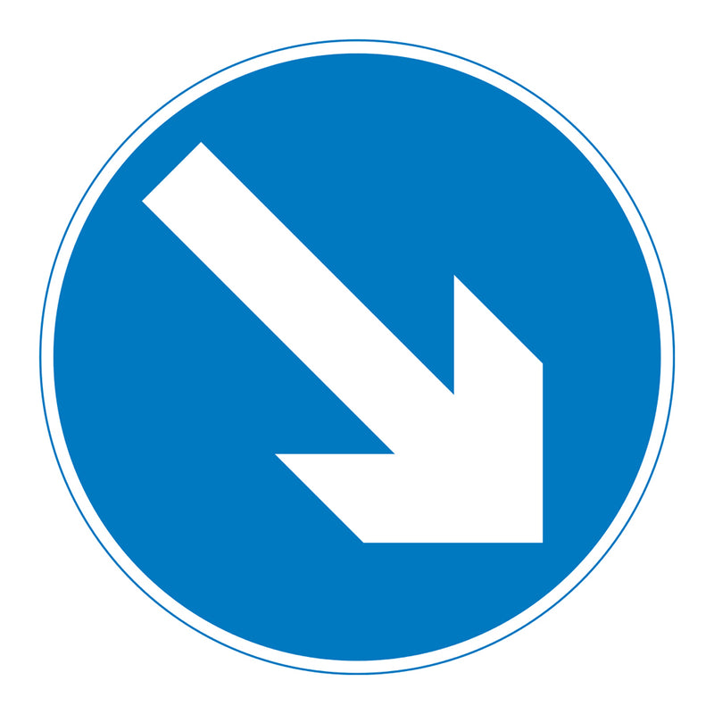 Traffic Sign - Keep Right