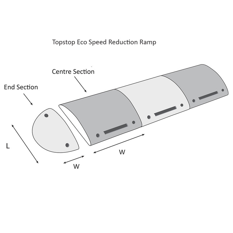 Topstop-Eco 10RE Speed Reduction Ramp (image 7)
