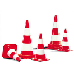 Traffic-Line Fluorescent Traffic Cone (Image 1)
