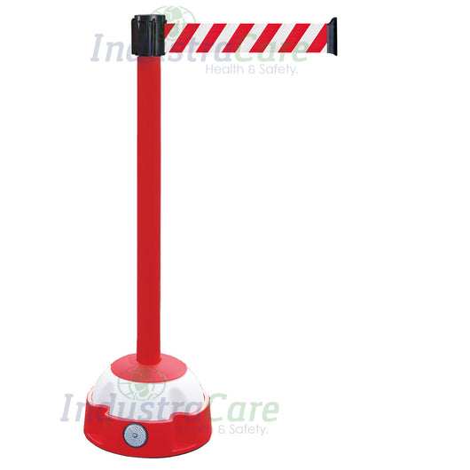 Traffic-Line Hi-Vis Belt Post Red/White Belt