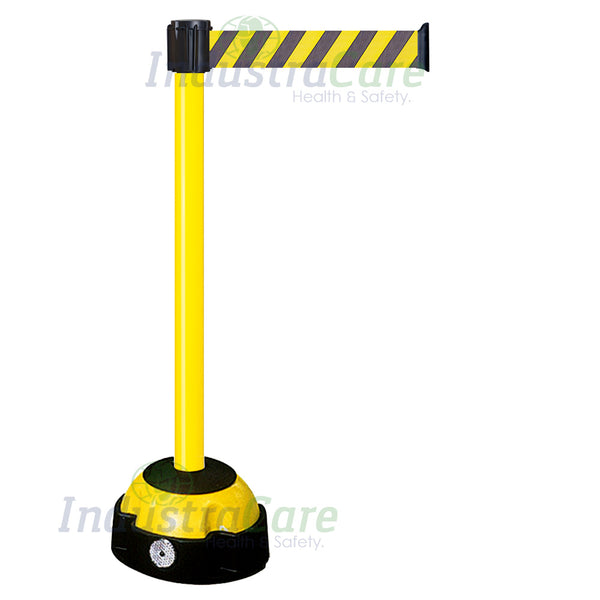 Traffic-Line Hi-Vis Belt Post Black/Yellow Belt