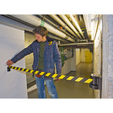 Traffic-Line Magnetic Wall Mounted Belt Barrier (Image 4)