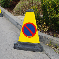 Traffic-Line No Waiting Cone (Image 1)