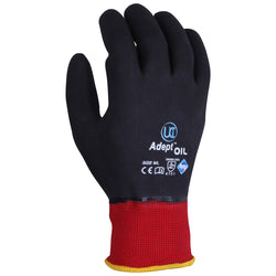 Adept Oil NFT Dual Nitrile Coated Safety Gloves