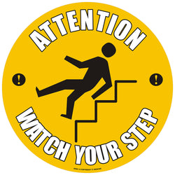 PROline Floor Sign: Attention Watch Your Step