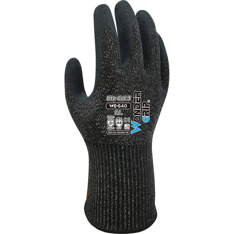 Wonder Grip Lite Cut 3 Safety Gloves