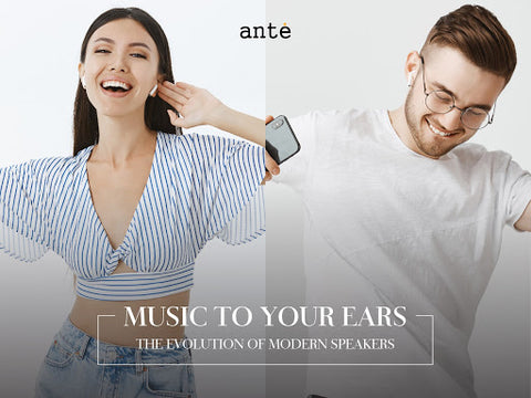Ante Bluetooth Speaker , Music To Your Ears