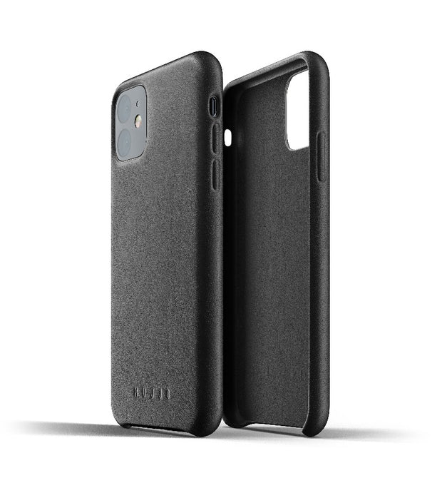 Mujjo Full Leather Case for iPhone 11 Black