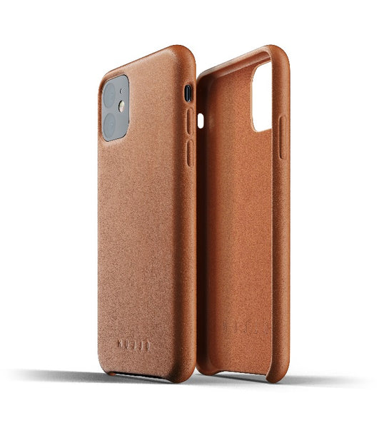 Mujjo Full Leather Case for iPhone 11 Tan