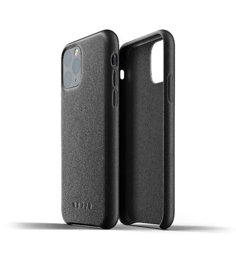 Mujjo Full Leather Case for iPhone Pro 11 Black