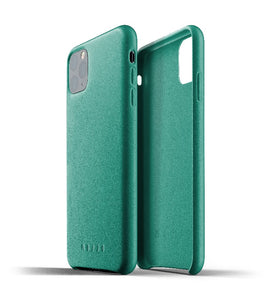 Mujjo Full Leather Case for iPhone 11 Pro Max Green