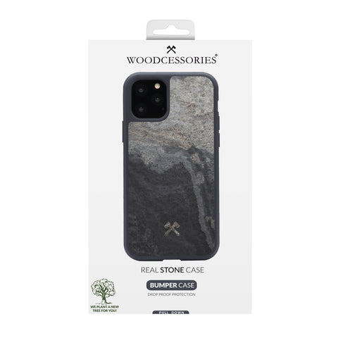 Woodcessories EcoBump Stone for New iPhone 11 Cases