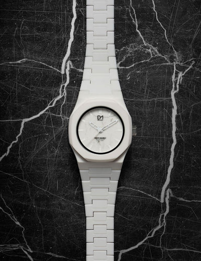 D1 Marble 40mm White - Ante Shop