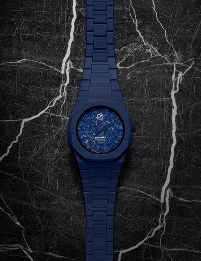 D1 Marble 40mm Blue - Ante Shop