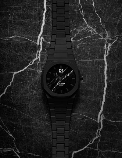 D1 Marble 40mm Black - Ante Shop