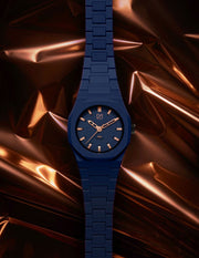 D1 Monochrome Rose 40mm Blue Mens Ladies Unisex Singapore antelimited