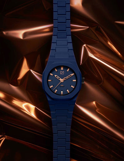 D1 Monochrome Rose 40mm Blue - Ante Shop