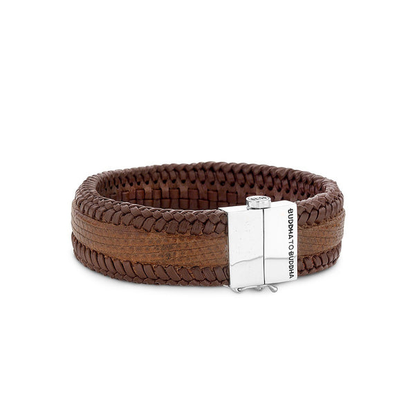 BUDDHA TO BUDDHA BRACELET SAN LEATHER