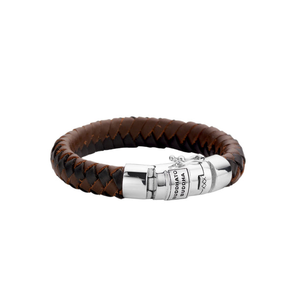 BUDDHA TO BUDDHA BRACELET BEN BLACK & BROWN