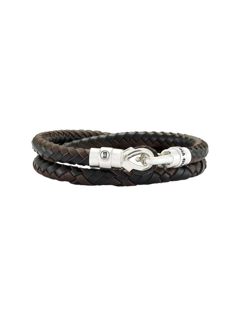 BUDDHA TO BUDDHA BRACELET MARIA DOUBLE LEATHER
