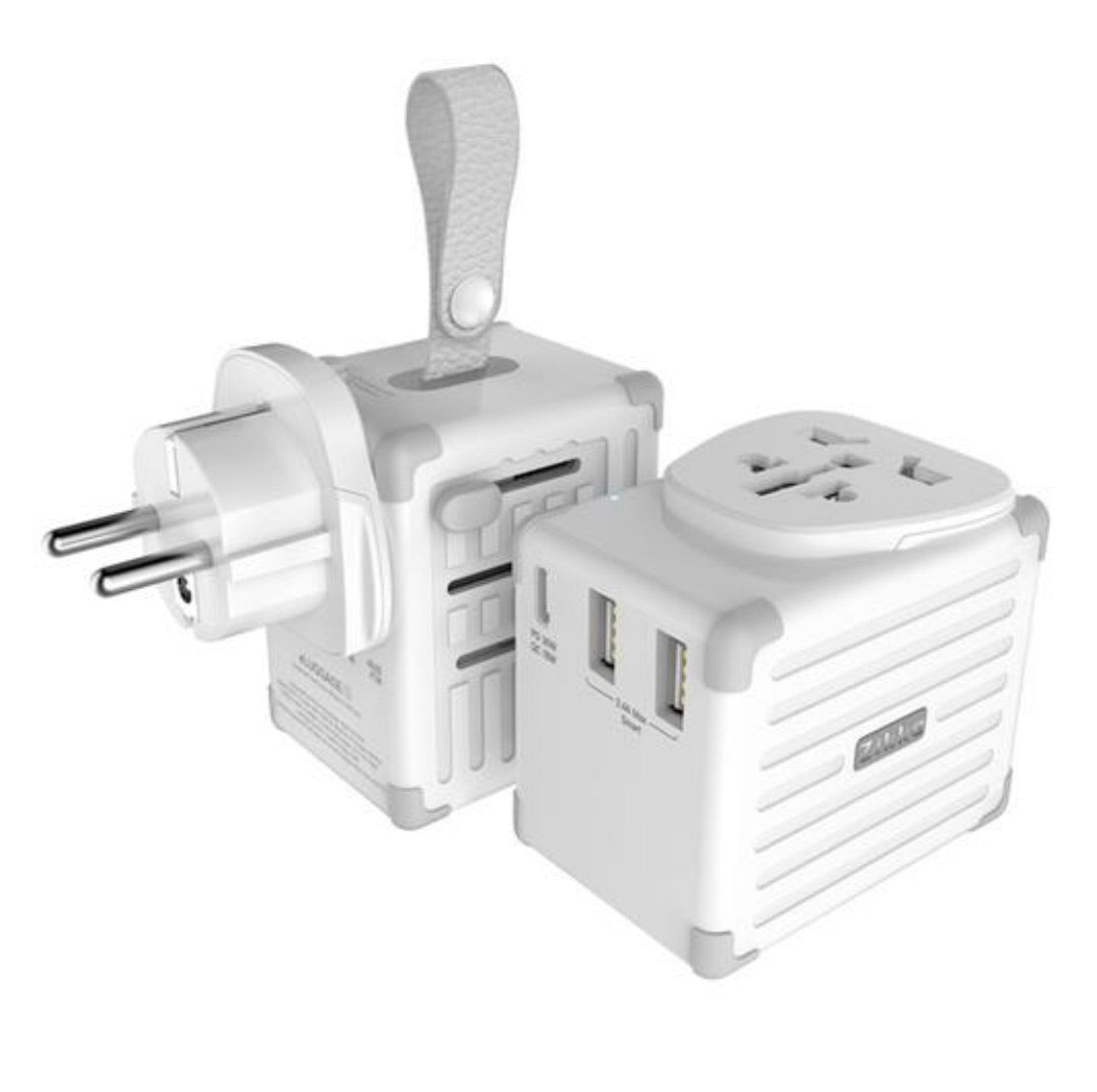 Zikko eLUGGAGE X Worldwide Travel Smart Adaptor USB 42W (EX300)