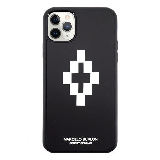 Marcelo Burlon 3D Cross Cover for New iPhone 11 Cases