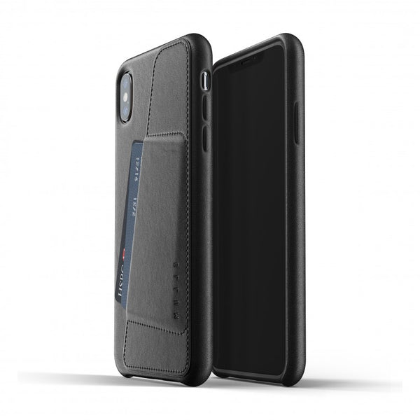 Mujjo Full Leather Wallet Case for iPhone Xs Max