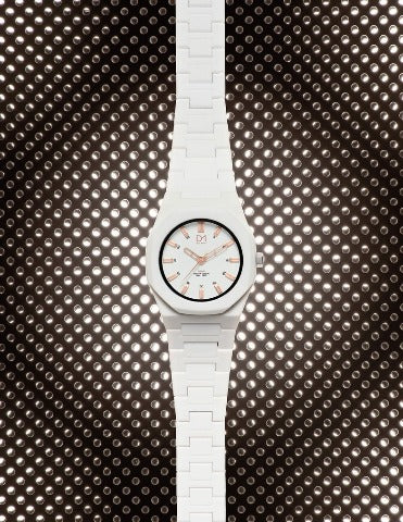 D1 Neon 36mm White Rose Gold - Ante Shop