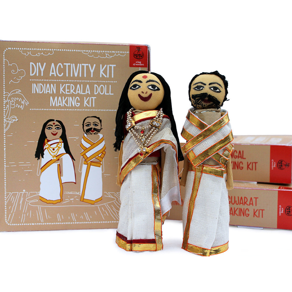 Do it yourself kerela doll making kit vastra do it yourself kerela doll making kit solutioingenieria Image collections