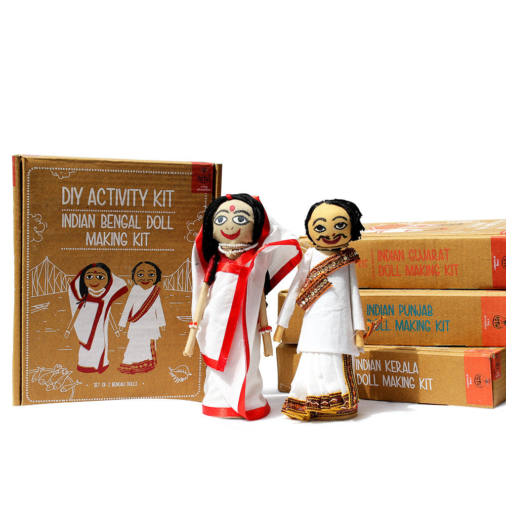 Do it yourself bengal doll making kit vastra do it yourself bengal doll making kit solutioingenieria Gallery