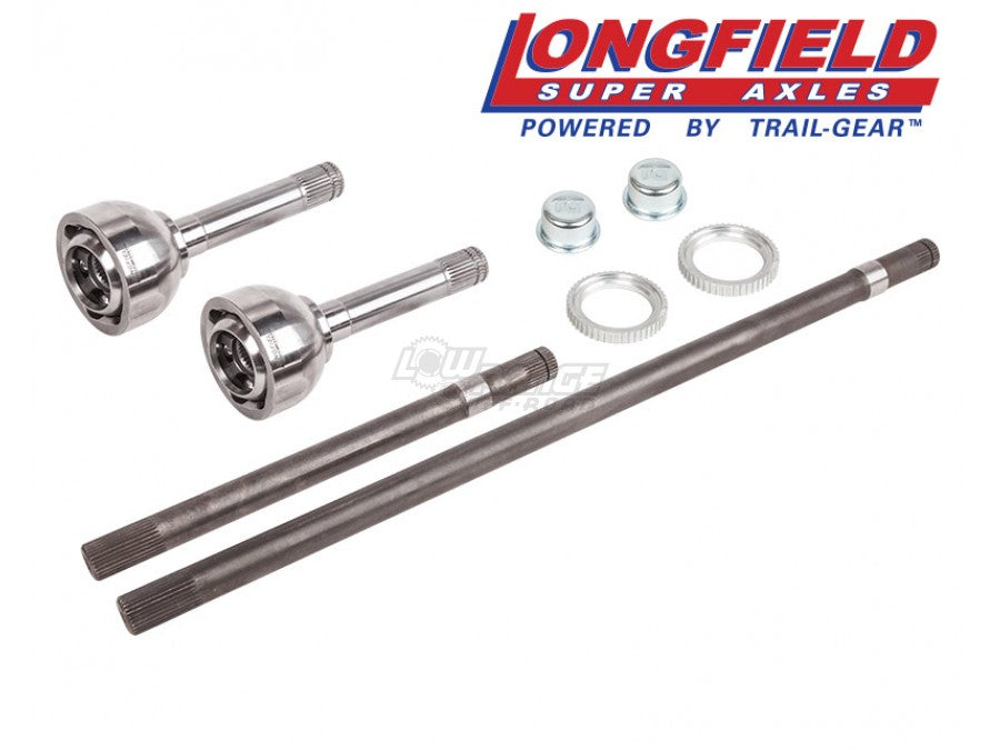 Longfield 30 Spline Super Set Birfield / Axle Kit, FJ80, Gun Drilled- (301720-1-KIT)