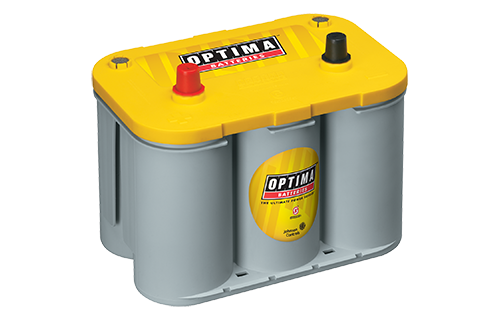 Optima 8012-021 Yellow Top Deep Cycle & Starting AGM Battery D34, CCA 750 amps.