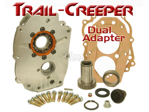 Dual Transfer Case Adapter 21 and 23  Spline