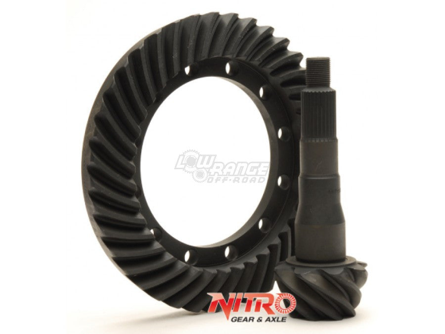 Nissan Front H233B  Ring & Pinion, Reverse Rotation, 4.63, 5.13, Nitro Gear