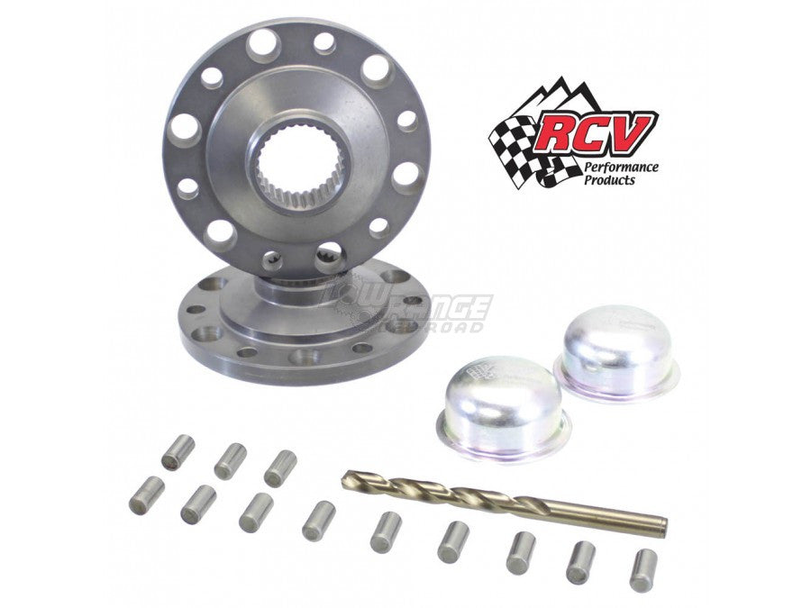 4340 Chromoly Drive Flange Set for Toyota Solid Front Axles