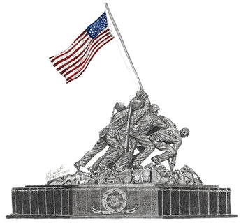 Marine Corps War Memorial - Iwo Jima Memorial