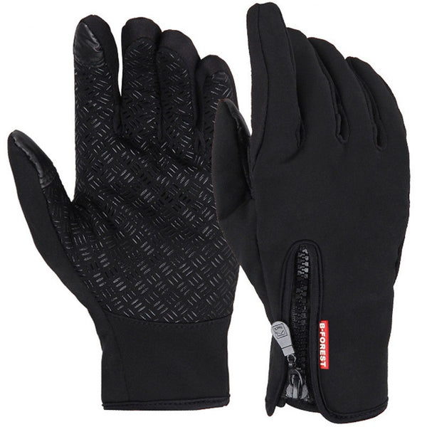 Men's gloves for the cold season.