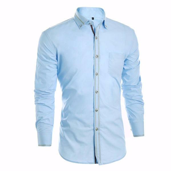 Luxury shirt (skyblue).