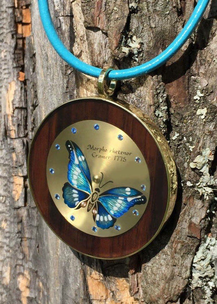 A lovely present for a lovely lady (Moonlight butterfly)