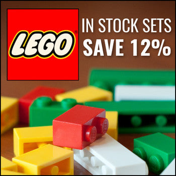 Take 12% off on Lego sets!