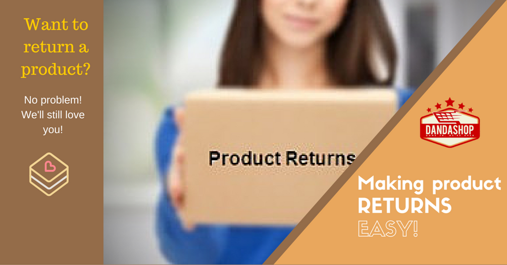 Our Easy Returns Policy
