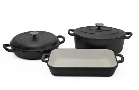 Finery - Mason Cast Iron 5pc Set - Matte Black