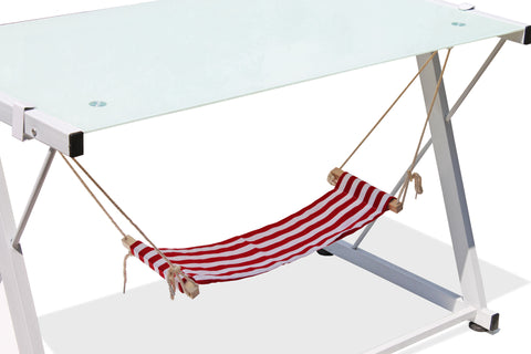 Foot hammock-Red stripe