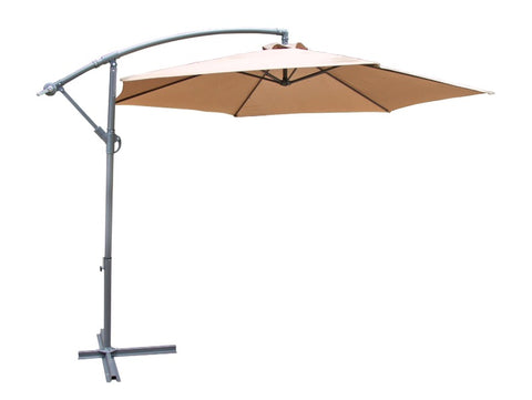 Umbrella - Vogue Cantilever - Coffee Beige
