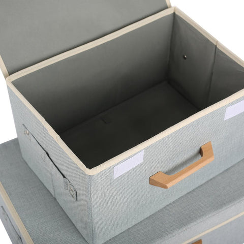 Storage Boxes Organisers - Stone Colour