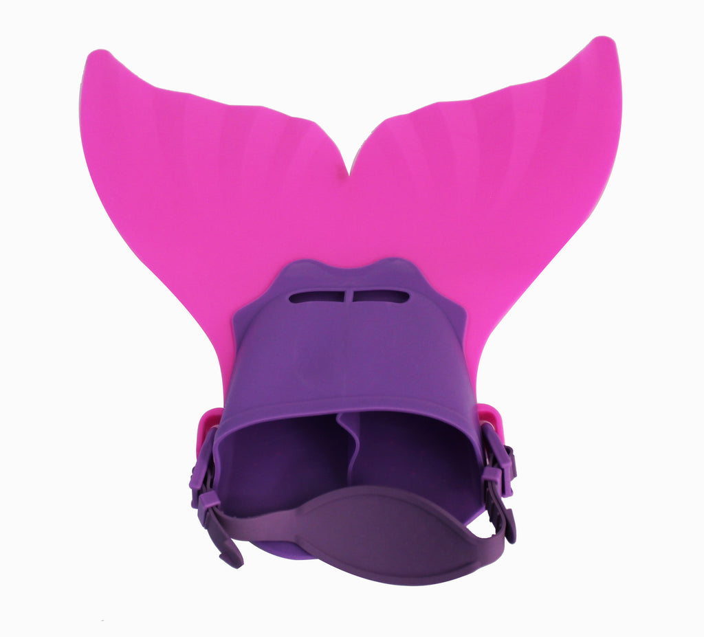 Mermaid Flippers - Small - Pink/Purple