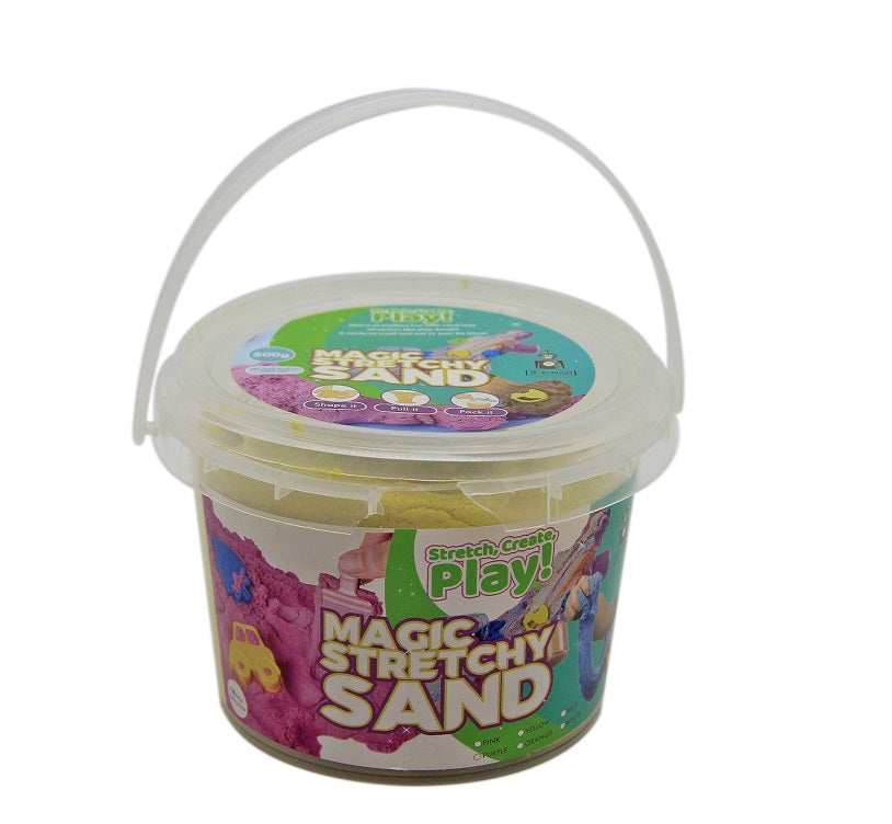 Magic Stretchy Sand 1kg - YELLOW