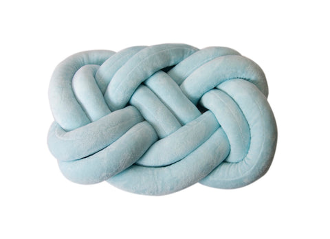 Nuovo - Knot Rectangle Pillow - Mint